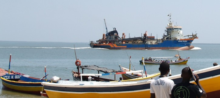 Mozambican dredging contract awarded to Van Oord