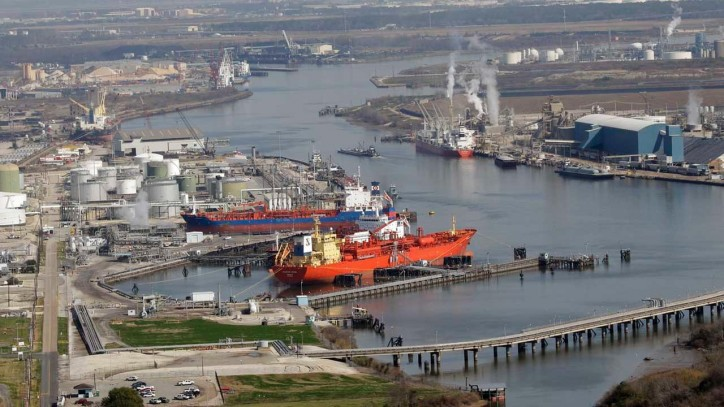Houston Ship Channel Briefly Closed after Benzene Spill