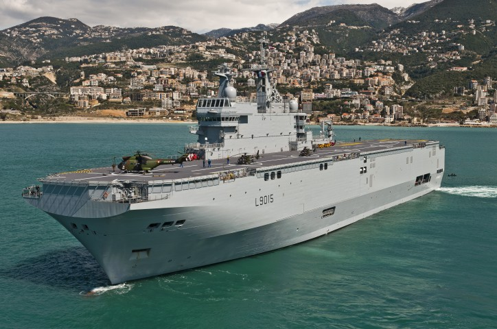 Russia To Manage Building Helicopter Carriers Superior To Mistral Vessels
