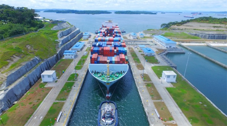 Expanded Panama Canal Welcomes Milestone 2,000th NeoPanamax Transit