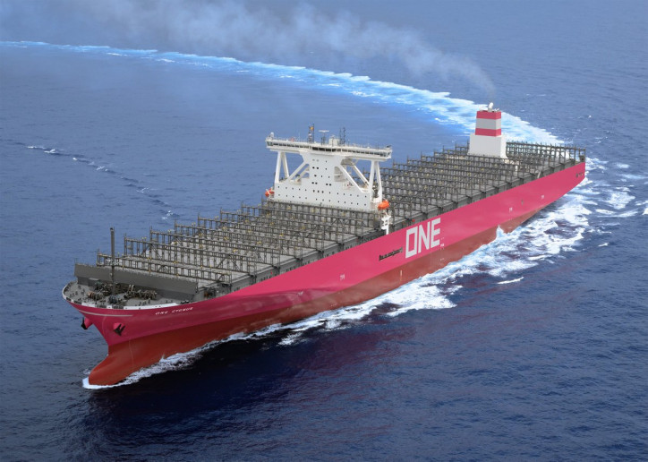 ONE announces delivery of 14,000-TEU Containership ONE CYGNUS