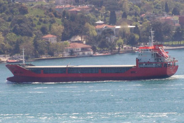 Turkish Cargo Ship Ahmet Akgul Arrested in Italy