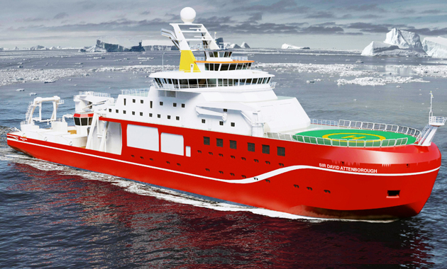Cammell Laird appoints Rolls-Royce to design and equip research vessel RRS Sir David Attenborough