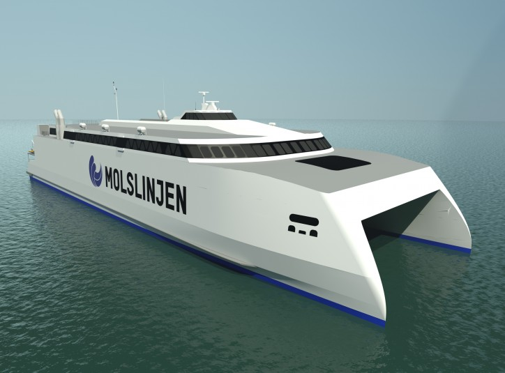 Wärtsilä waterjets to power new Danish high-speed ferry