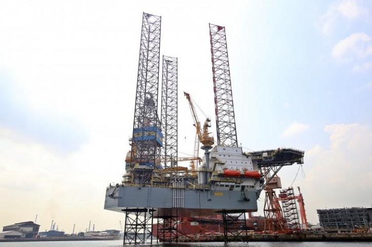 Sembcorp Marine delivers jack-up rig Maersk Highlander