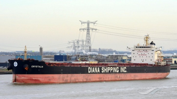 Diana Shipping signs time charter contract for mv Crystalia with Glencore