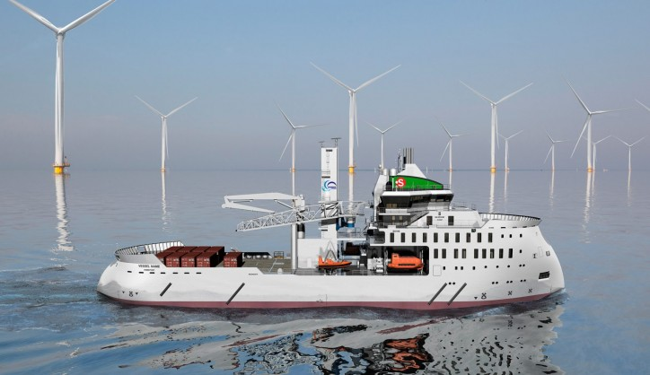 Ulstein Verft signs contract with the Bernhard Schulte for a service operation vessel
