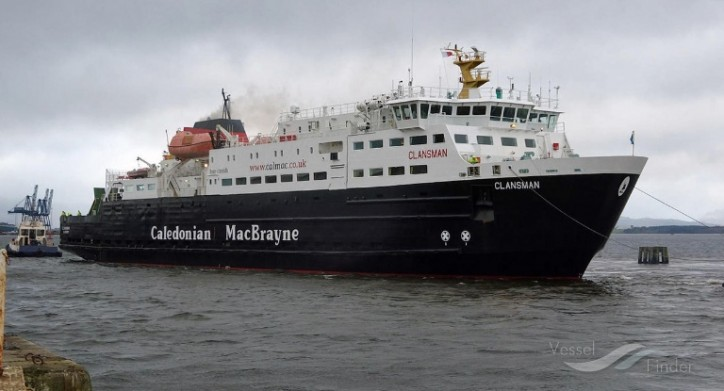 Permanent repair scheduled for CalMac's ferry Clansman
