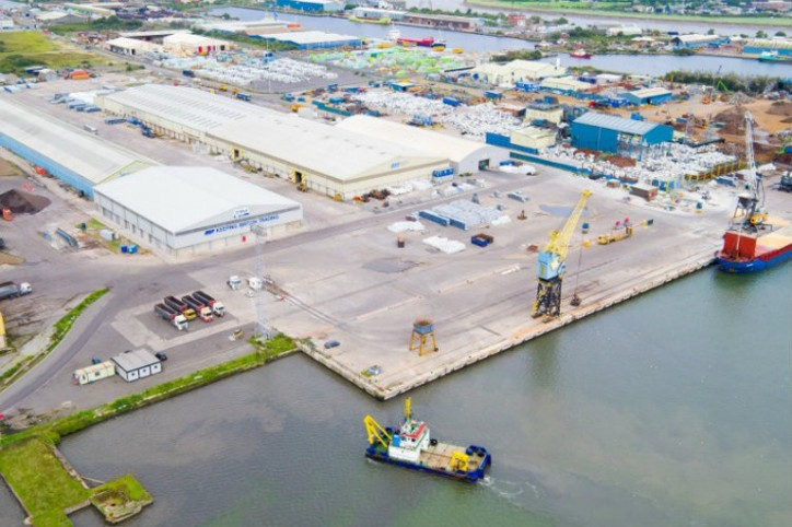 Work begins on £4.5 million warehouse investment at Port of Newport