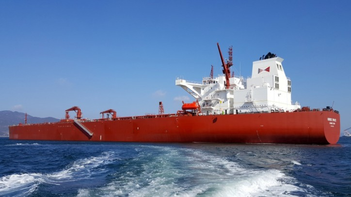Suezmax Tanker Nordic Spacе Joins NAT's Fleet