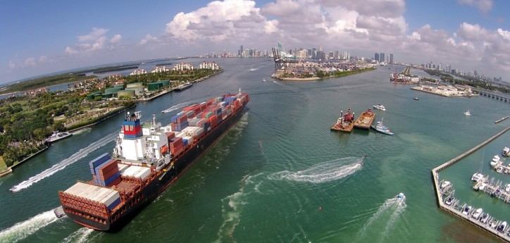 NOAA joins with PortMiami to let larger cargo ships safely enter seaport