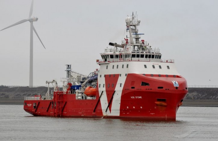 Walk-to-work vessel VOS Stone commences operations at Arkona OWF