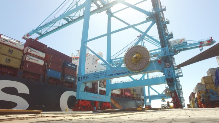 APM Terminals Pecém reports record volumes