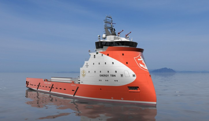 Ulstein-designed PSV Energy Duchess launched in China