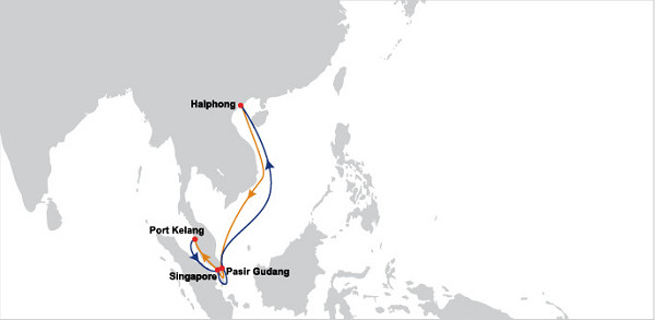 OOCL Vietnam Johor Straits service (VJS)