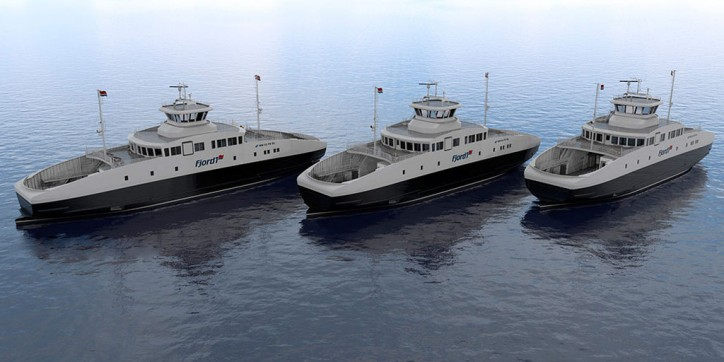Havyard Ship Technology to construct three electric ferries for Fjord1