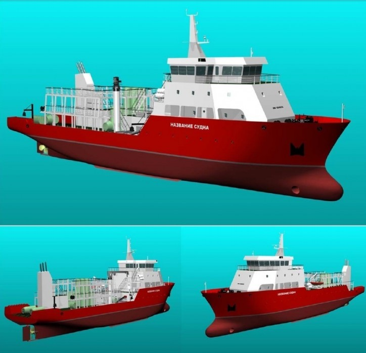 World's First Ship dedicated for Crab Catching can be designed and built in Russia