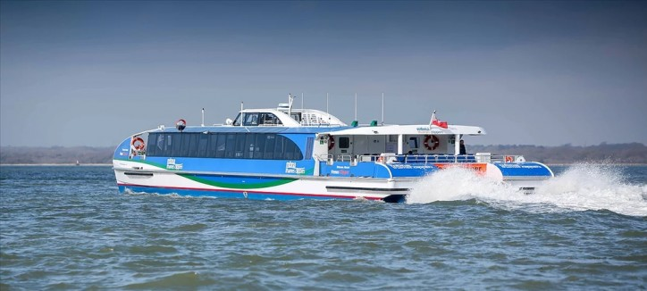 Wight delivers first in class to MBNA Thames Clippers