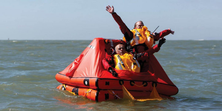 Two Crew Abandon Ship Into Survitec Liferaft In Successful Fishing Boat Evacuation