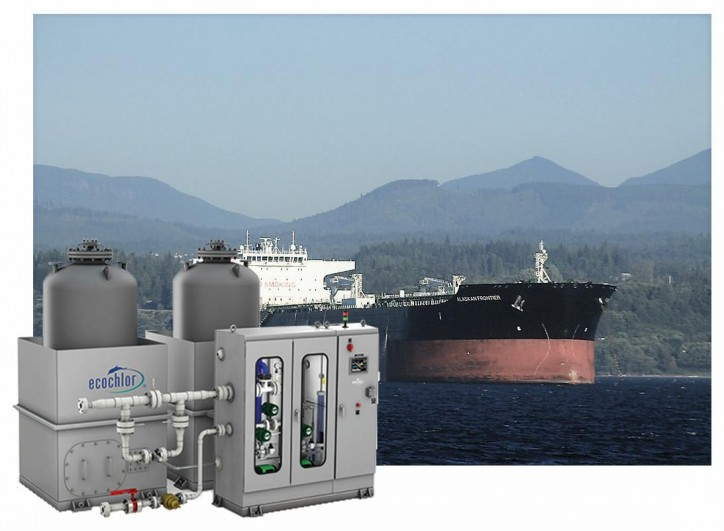 Ecochlor Announces BWMS Retrofit Contract with Alaskan Tanker Company