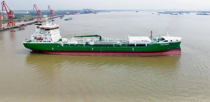 Thun Tankers & Gothia Tanker Alliance add newbuilding Thun Venern to the fleet