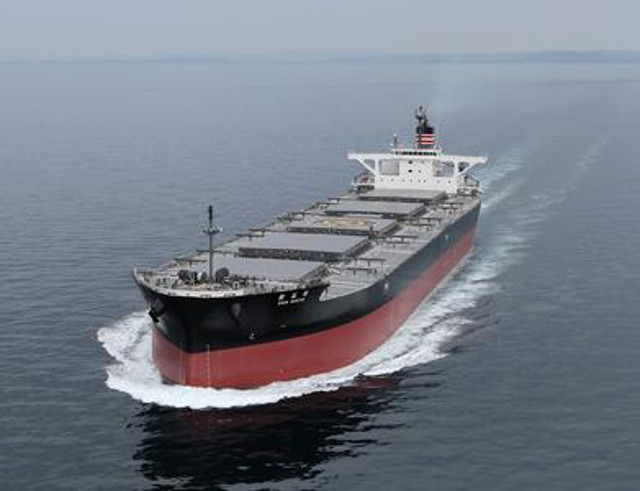 NYK takes delivery of New Coal Carrier - Shin Sekiyo