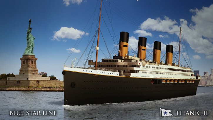 Deltamarin's further involvement in Titanic II project confirmed
