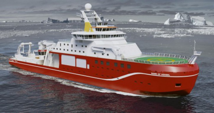 Cammell Laird Holds Historic Keel Laying Of New £150 million Polar Research Vessel