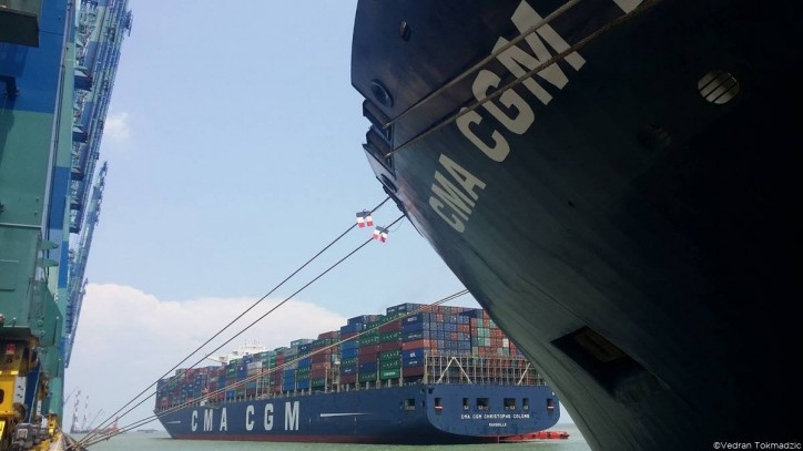 CMA CGM improves CO2 performance by 4% in 2016