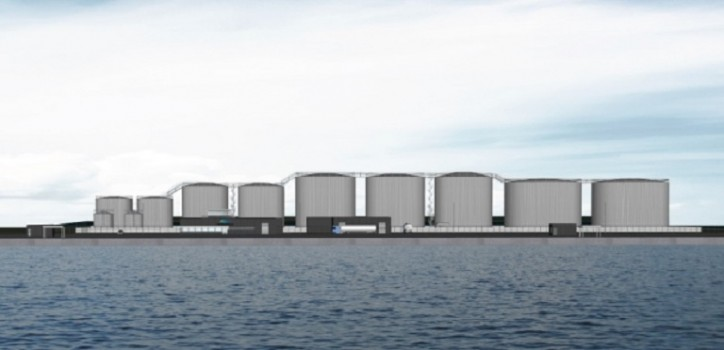 Denmark's Port of Frederikshavn Contracts Bladt Industries for New Oil Terminal