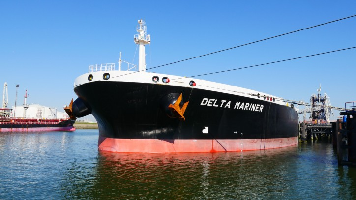 Delta Mariner first to use deepened Nieuwe Waterweg at the Port of Rotterdam