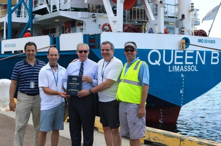 New World Direct Shipping vessel makes maiden voyage from Port Manatee
