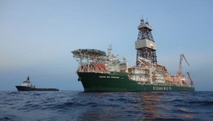Ocean Rig Poseidon mobilised to drill prospect well offshore Namibia