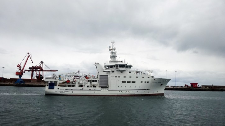 GONDAN delivers Research Vessel Dr Fridtjof Nansen