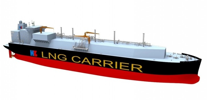 China to build largest LNG carrier