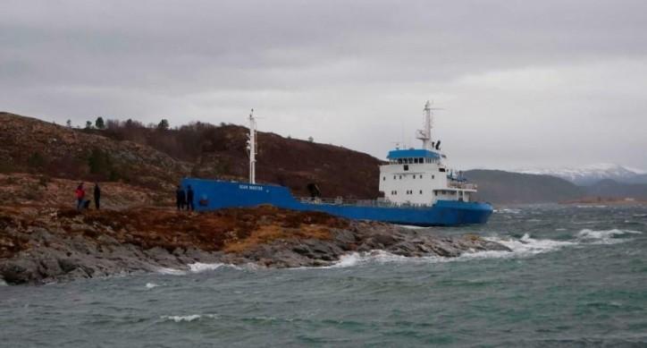 Scan Master aground