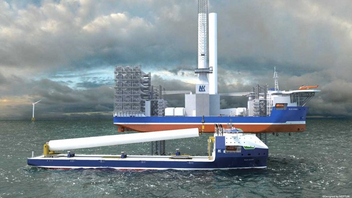 ABS Grants AIP for Neptun's Wind Turbine Transport Vessel