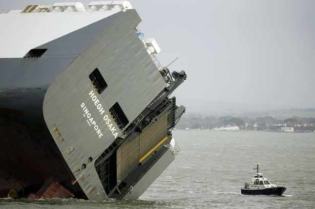 Ship accidents Hoegh Osaka