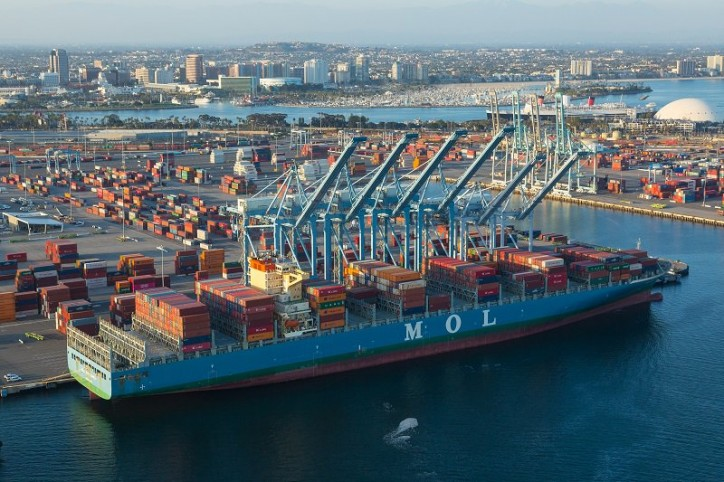 Port of Long Beach has its busiest May in its 107-year history