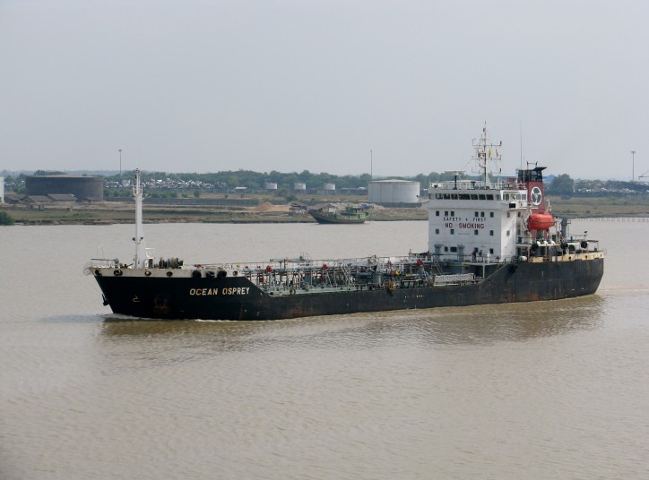 Freighter Dong Thien Phu Silver sank after collision with tanker OCEAN OSPREY off Myanmar