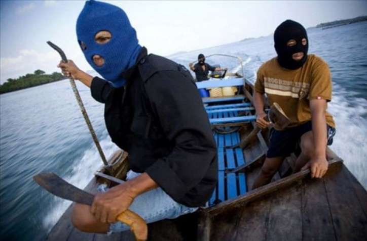Three taken hostage in the Celebes Sea