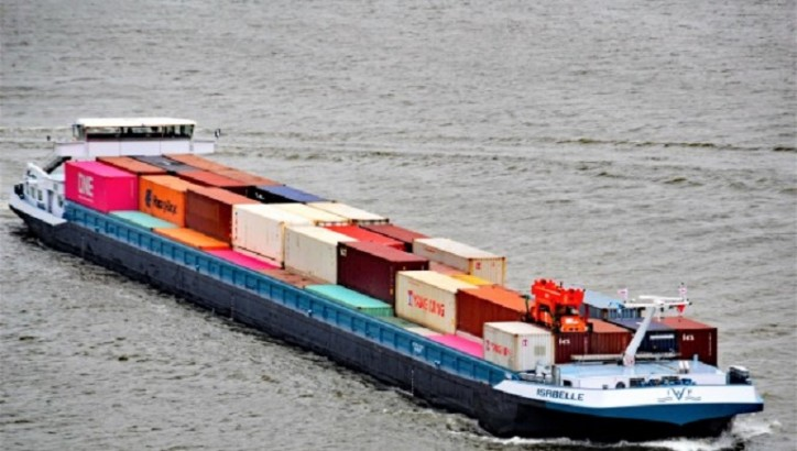 Limburg Express launched - New Inland Shipping connection between Rotterdam and Limburg