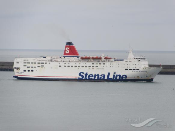 Stena Line ferry from Rosslare Stranded At Sea For 24 hours Due To High Winds And Rough Waters