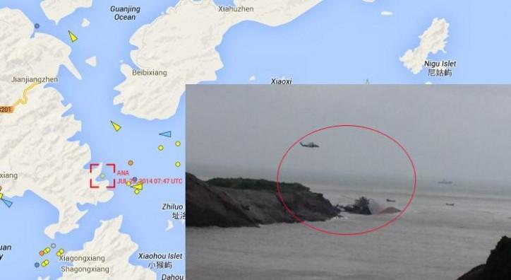 Ana sank, Typhoon Matmo