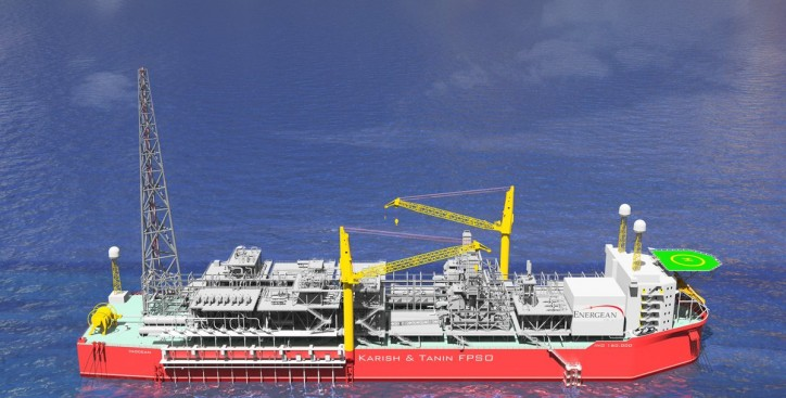 Energean receives Class approval for FPSO design for Karish-Tanin