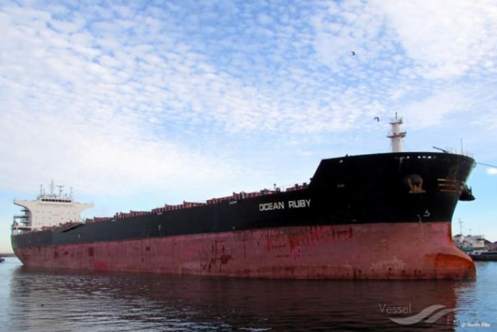 Noble Group announces sale of vessel mv Ocean Ruby