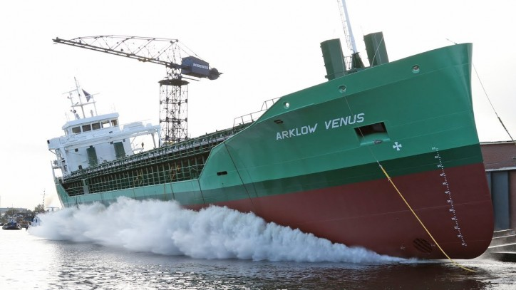 Alewijnse Marine successfully delivered complete electrical installation for the new cargo vessel Arklow Venus