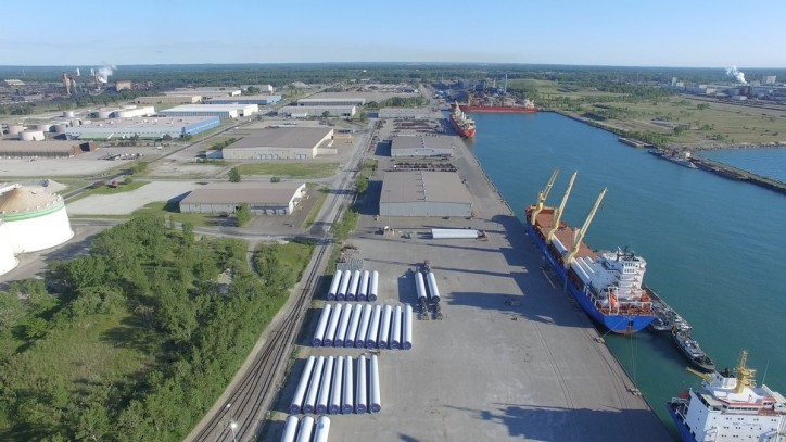 Ports of Indiana shipments up 19% in first six months of 2017