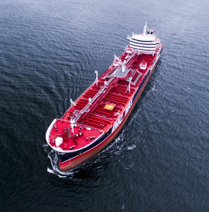 IMOIIMAX tanker Stena Imagination is delivered