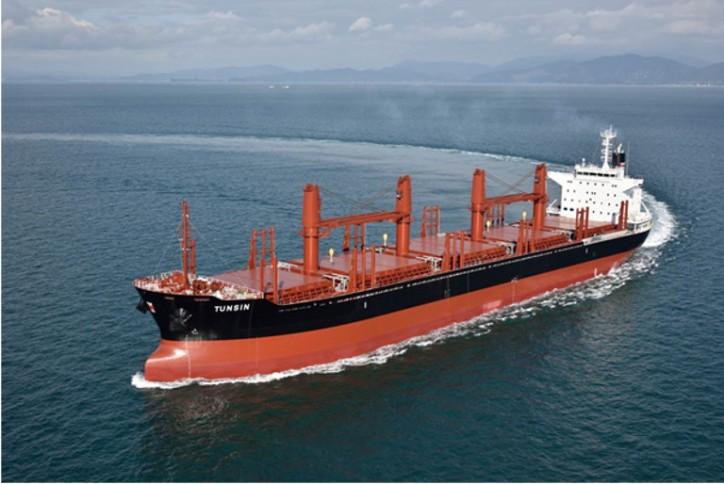 China Navigation Company completes newbuilding programme with naming ceremony at Imabari Shipyard